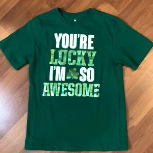 Old Navy Boys St. Patrick's day t-shirt size XL
